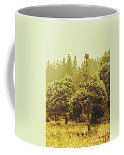 Tasmanian Grassland Details Coffee Mug