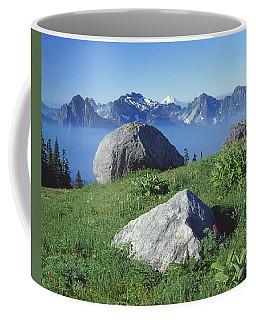1m4862-tatoosh Range And Mt. St. Helens  Coffee Mug