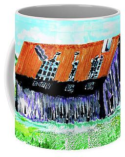 Tattered Prairie Barn Coffee Mug