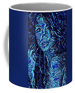 Tatto Lady With The Blues Coffee Mug