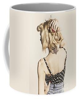 Tattoo Pin-up Coffee Mug
