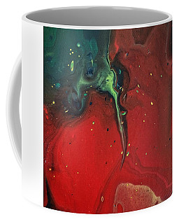 Coffee Mug featuring the painting Tattoo Shop by Robbie Masso