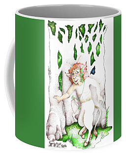 Real Fake News Nature Spirit Correspondent Coffee Mug