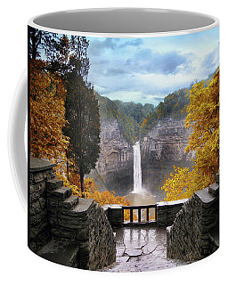 Taughannock In Autumn Coffee Mug