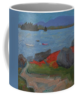 Coffee Mug featuring the painting Taunton Bay by Francine Frank