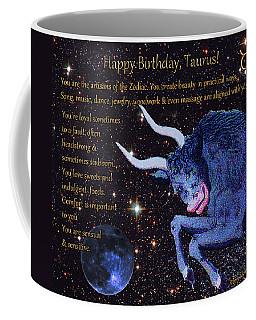 Taurus Birthday Zodiac Astrology Coffee Mug