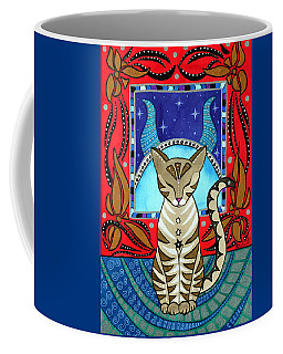 Taurus Cat Zodiac Coffee Mug