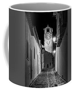 Tavira Church Bell Tower At Night - Portugal Coffee Mug