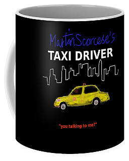 Taxi Driver Movie Poster Coffee Mug