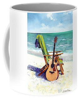 Taylor At The Beach Coffee Mug