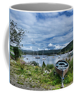 Tayvallich Harbour Coffee Mug by Lynn Bolt