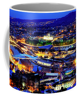 Coffee Mug featuring the photograph Tbilisi by Fabrizio Troiani