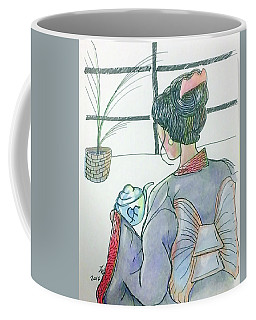 Tea Ceremonial  Coffee Mug by Loretta Nash
