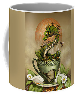 Tea Dragon Coffee Mug by Stanley Morrison