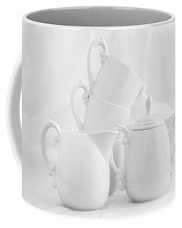 Tea For Three In White Coffee Mug