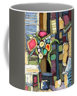 Tea Time Coffee Mug by Carrie Joy Byrnes