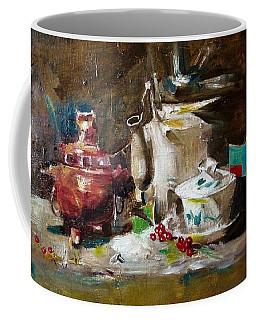 Tea Time Coffee Mug by Khalid Saeed
