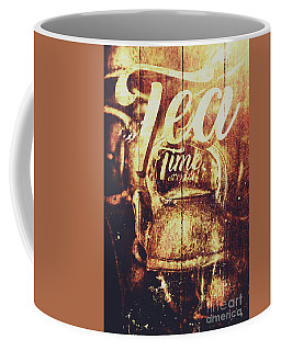 Tea Time Tin Sign Coffee Mug