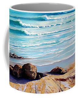 Tea Tree Bay Noosa Heads Australia Coffee Mug by Chris Hobel