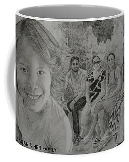 Teagan And Her Family Coffee Mug