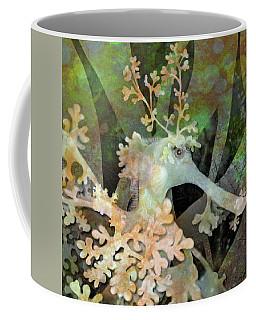 Teal Leafy Sea Dragon Coffee Mug