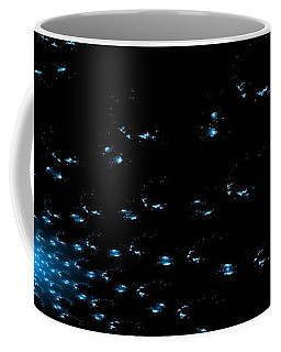 Teal Spiral Nebula Coffee Mug