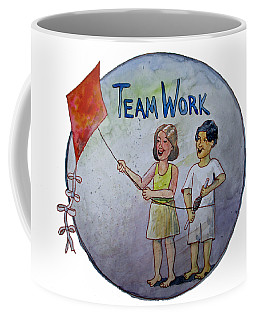 Teamwork Coffee Mug