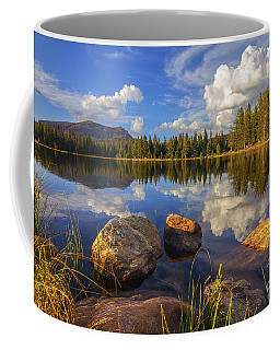 Coffee Mug featuring the photograph Teapot Lake by Spencer Baugh