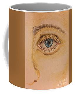 Tear Drop Coffee Mug