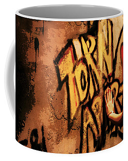 Tear This Wall Down Coffee Mug