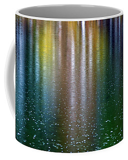 Coffee Mug featuring the photograph Tears On A Rainbow by John Haldane
