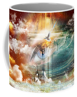 Coffee Mug featuring the digital art Tears To Triumph by Dolores Develde