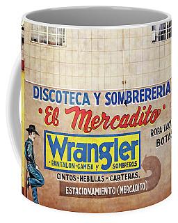 Tecate Advertising - Baja California - Mexico Coffee Mug