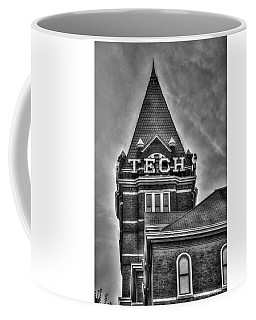 Tech B W Georgia Institute Of Technology Atlanta Georgia Art Coffee Mug