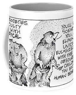 Technocratic Societies Fpi Cartoon Coffee Mug