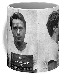Ted Bundy Mug Shot 1975 Horizontal  Coffee Mug