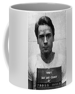 Ted Bundy Mug Shot 1975 Vertical  Coffee Mug