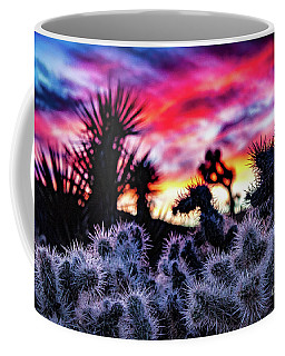Teddy Bear Cholla Coffee Mug
