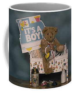Teddy Bear - Its A Boy Coffee Mug