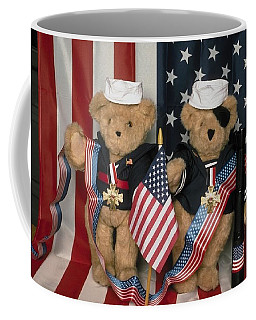 Teddy Bears In America Coffee Mug