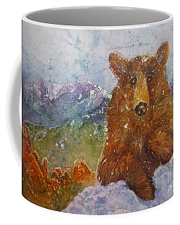 Teddy Wakes Up In The Most Desireable City In The Nation Coffee Mug