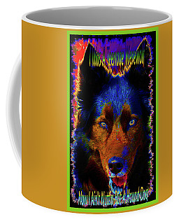 Coffee Mug featuring the photograph Teen Wolf by Robert McCubbin