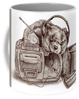 Teenage Bear Coffee Mug