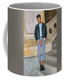 Coffee Mug featuring the photograph Teenage Boy Fashion 1504267 by Alexander Image