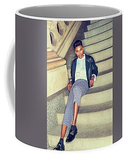 Coffee Mug featuring the photograph Teenage Casual Fashion 15042616 by Alexander Image