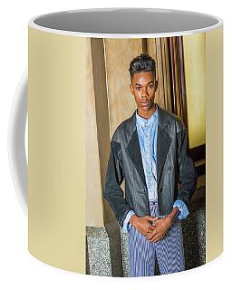 Coffee Mug featuring the photograph Teenage Casual Fashion 15042629 by Alexander Image