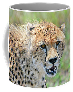 Teeth, Eyes, And Spots Coffee Mug