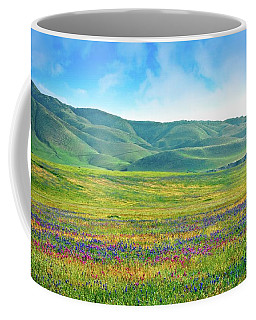 Tejon Ranch Wildflowers Coffee Mug