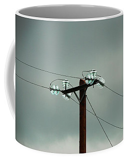 Telegraph Lines Coffee Mug