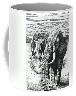 Telephoto Coffee Mug by Lawrence Tripoli